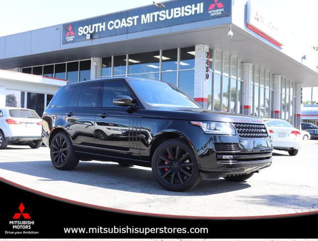 2016 Land Rover Range Rover SUPERCHARGED Costa Mesa CA