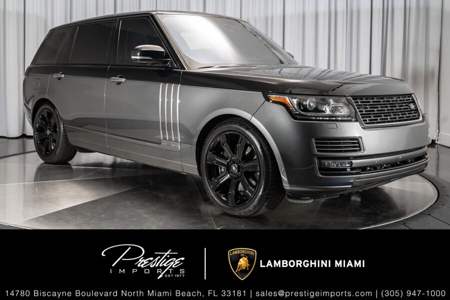 2016_Land Rover_Range Rover_SV Autobiography_ North Miami FL