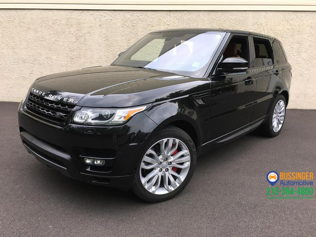 2016 Land Rover Range Rover Sport - SuperCharged V8 Feasterville PA