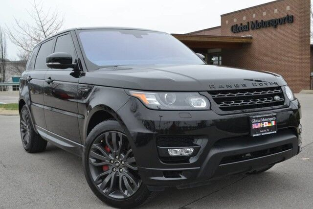 2016 Land Rover Range Rover Sport 3.0L V6 SC/HST Limited Edition/21'' Sport Wheels/Blind Spot Monitor/Htd&Cooled Seats/Meridian Premium Audio/Brembo Brakes/Panoramic Roof Nashville TN