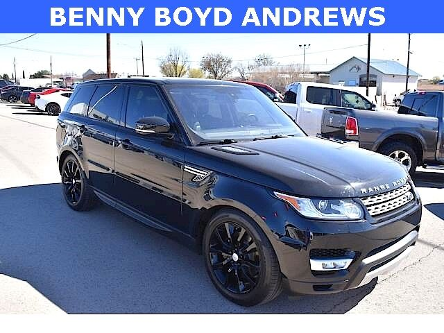 2016 Land Rover Range Rover Sport 3.0L V6 Supercharged HSE Andrews TX