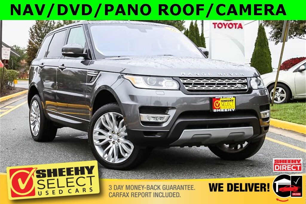 2016 Land Rover Range Rover Sport 3.0L V6 Supercharged HSE Stafford VA