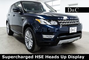 2016 Land Rover Range Rover Sport 3.0L V6 Supercharged HSE Heads Up Display
