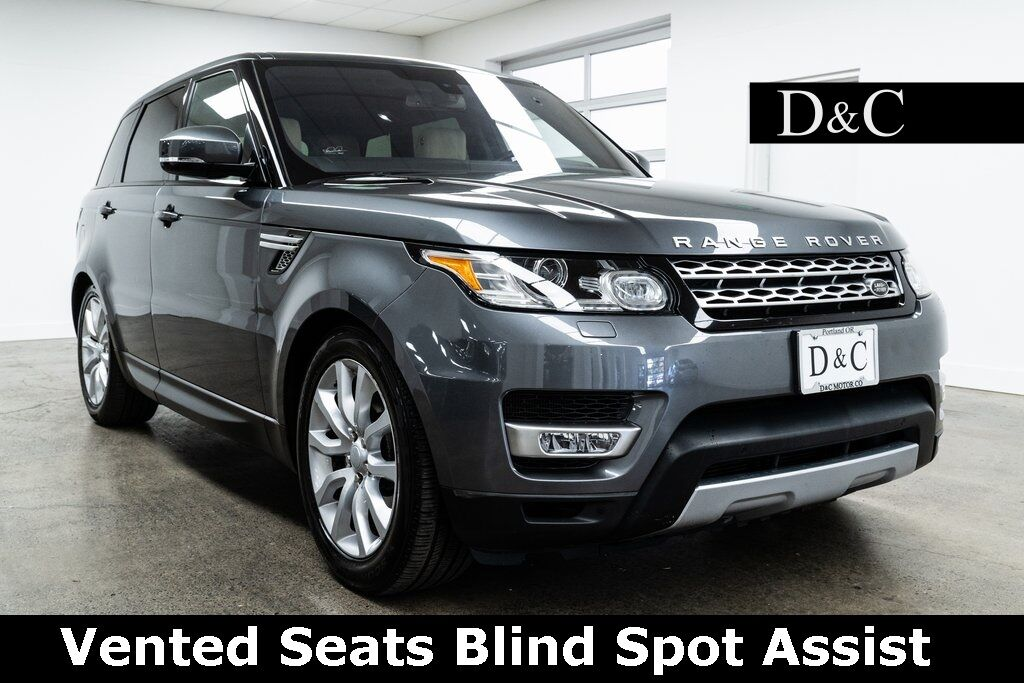 2016 Land Rover Range Rover Sport 3.0L V6 Supercharged HSE Vented Seats Blind Spot Assist Portland OR