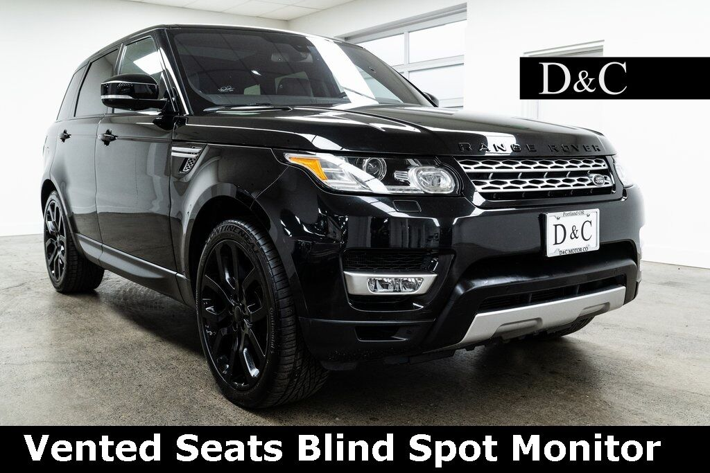 2016 Land Rover Range Rover Sport 3.0L V6 Supercharged HSE Vented Seats Portland OR