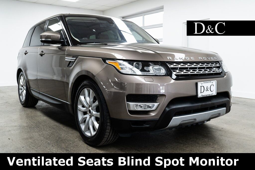 2016 Land Rover Range Rover Sport 3.0L V6 Supercharged HSE Ventilated Seats Portland OR