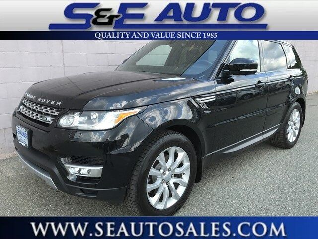 2016 Land Rover Range Rover Sport 3.0L V6 Supercharged HSE Weymouth MA