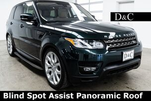 2016 Land Rover Range Rover Sport 3.0L V6 Supercharged SE Blind Spot Assist Panoramic Roof