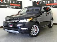 Land Rover Range Rover Sport 5.0L V8 4WD SUPERCHARGED BLIND SPOT MONITOR NAVIGATION PANORAMA LEATHER 2016