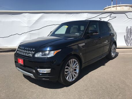 2016_Land Rover_Range Rover Sport_5.0L V8 Supercharged_ El Paso TX