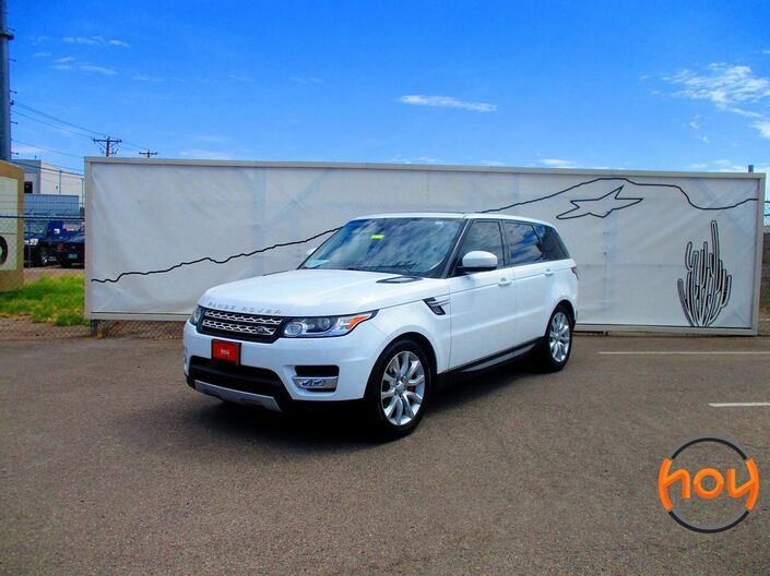 2016 Land Rover Range Rover Sport 5.0L V8 Supercharged El Paso TX