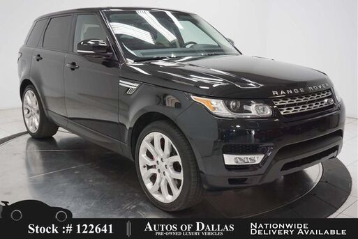2016_Land Rover_Range Rover Sport_5.0L V8 Supercharged NAV,CAM,PANO,CLMT STS,22IN WL_ Plano TX