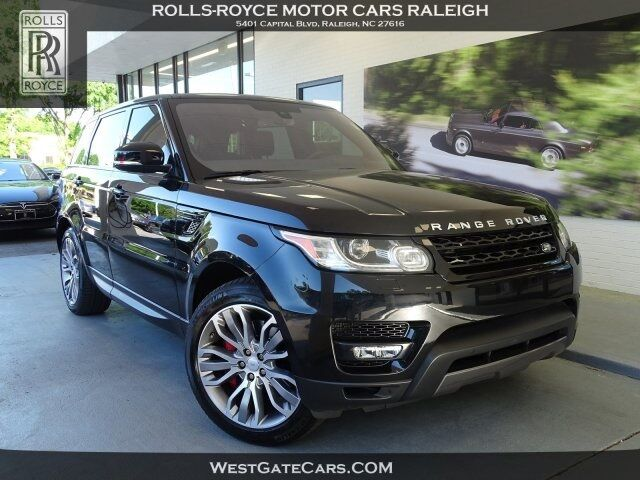 2016 Land Rover Range Rover Sport 5.0L V8 Supercharged Raleigh NC