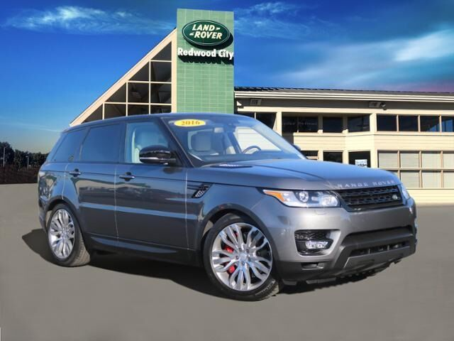 2016 Land Rover Range Rover Sport 5.0L V8 Supercharged Redwood City CA