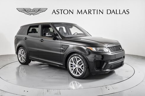 2016_Land Rover_Range Rover Sport_5.0L V8 Supercharged SVR_ Dallas TX