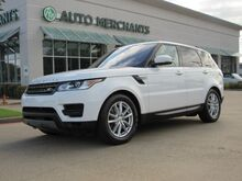 2016_Land Rover_Range Rover Sport_SE NAV, PANORAMIC, BACKUP CAM, BLUETOOTH, PUSH BUTTON, SAT RADIO, PARK AID_ Plano TX