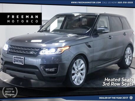 2016_Land Rover_Range Rover Sport_V6 4WD 3rd Row Seat Heated Seats Back-Up Cam_ Portland OR
