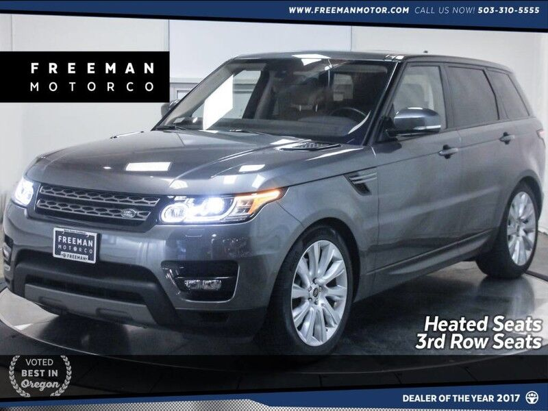 2016 Land Rover Range Rover Sport V6 4WD 3rd Row Seat Heated Seats Back-Up Cam Portland OR