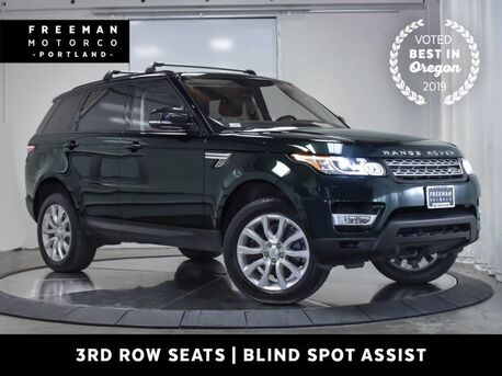 2016_Land Rover_Range Rover Sport_V6 Diesel HSE 4X4 3rd Row Blind Spot Asst Pano Tow_ Portland OR