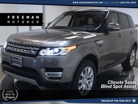 2016_Land Rover_Range Rover Sport_V6 Diesel HSE Climate Seats Blind Spot Monitor_ Portland OR