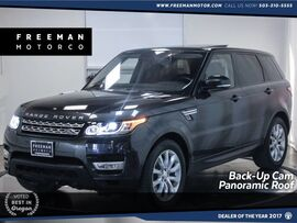 2016 Land Rover Range Rover Sport V6 HSE 4WD Back-Up Cam Adaptive Cruise