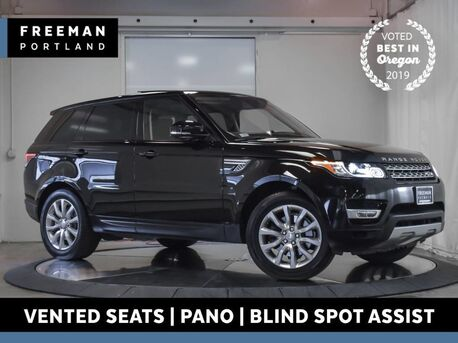2016_Land Rover_Range Rover Sport_V6 HSE 4WD Pano Blind Spot Assist Vented Seats_ Portland OR