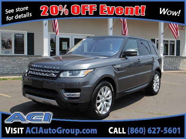 2016 Land Rover Range Rover Sport V6 HSE East Windsor CT