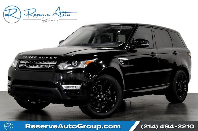 2016 Land Rover Range Rover Sport V6 HSE HUD PanoRoof BlackOut Pkg 22 Alloys The Colony TX