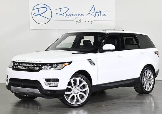 2016_Land Rover_Range Rover Sport_V6 HSE Meridian Sound Blind Spot Assist_ The Colony TX