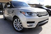 2016 Land Rover Range Rover Sport V6 HSE PANO ROOF, 1 OWNER, TEXAS BORN