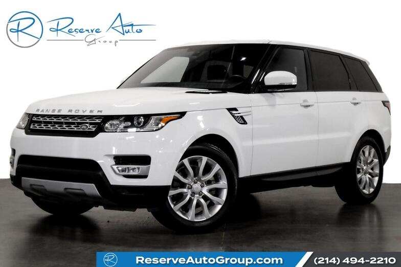 2016 Land Rover Range Rover Sport V6 HSE PanoRoof Climate Pkg 20 Alloys Meridian Sound The Colony TX