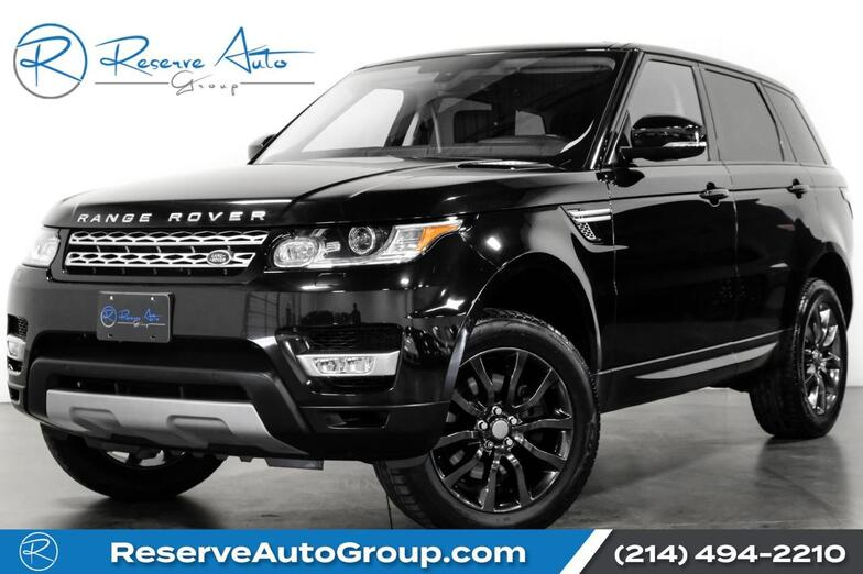 2016 Land Rover Range Rover Sport V6 HSE PanoRoof Climate Pkg Tow Pkg 20 Alloys The Colony TX