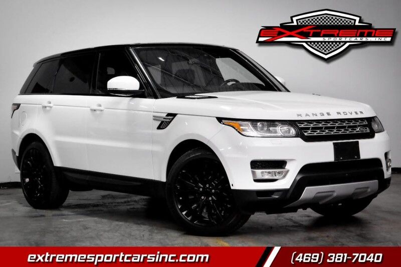 2016 Land Rover Range Rover Sport V6 HSE SUPERCHARGED Carrollton TX