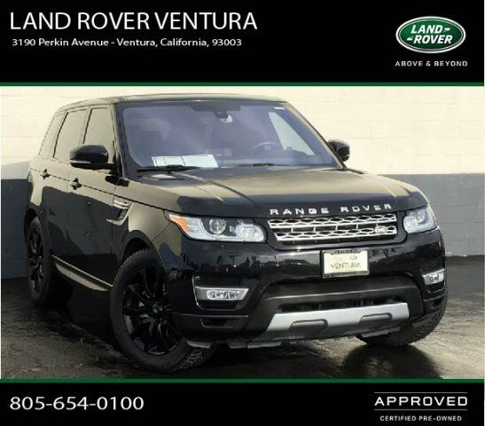 2015 Land Rover Range Rover Sport Supercharged Ventura Ca: 2016 Land Rover Range Rover Sport V6 HSE Ventura CA 29250922