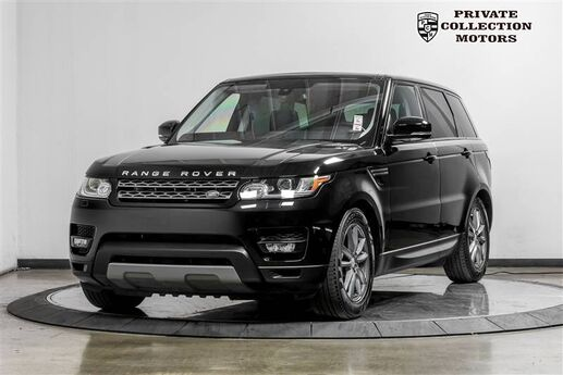 2016 Land Rover Range Rover Sport V6 SE Climate & Comfort Package Costa Mesa CA