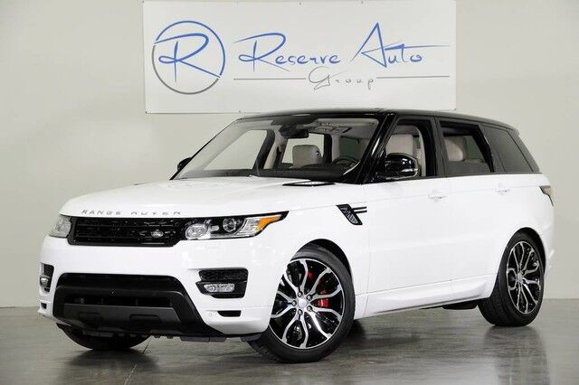 2016 Land Rover Range Rover Sport V8 Autobiography Meridian Sound Blind Spot The Colony TX