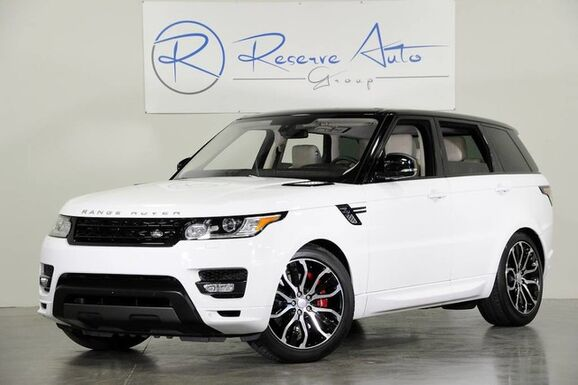 2016_Land Rover_Range Rover Sport V8_Autobiography Meridian Sound Blind Spot_ The Colony TX