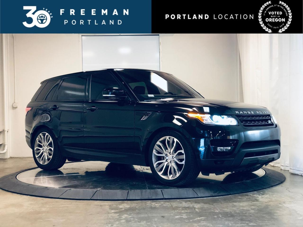 2016 Land Rover Range Rover Sport V8 Dynamic Adaptive Cruise Htd/Ventilated Seats Portland OR