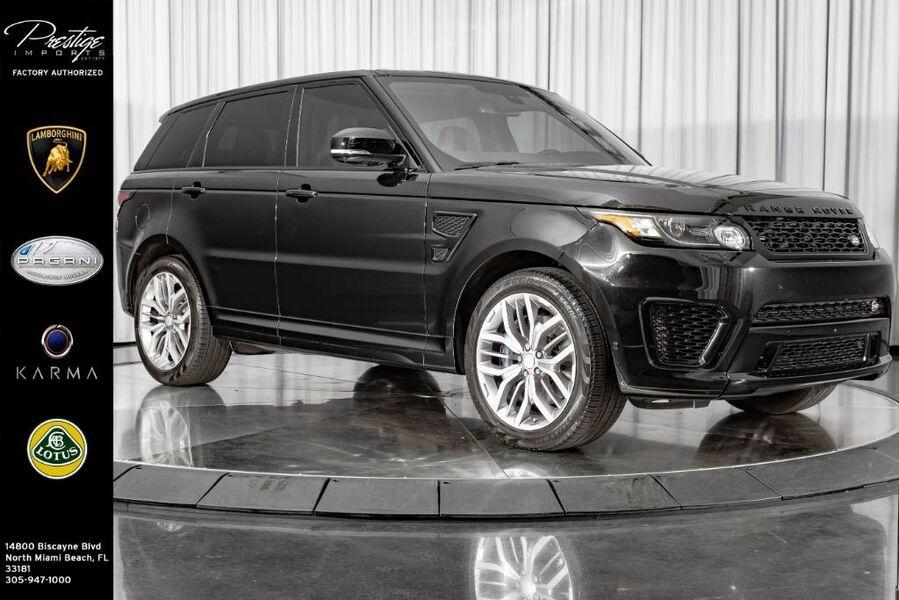 2016_Land Rover_Range Rover Sport_V8 SVR_ North Miami Beach FL