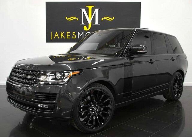 2016 Land Rover Range Rover Supercharged ($114,580 MSRP) *BLACKOUT PACKAGE* San Diego CA