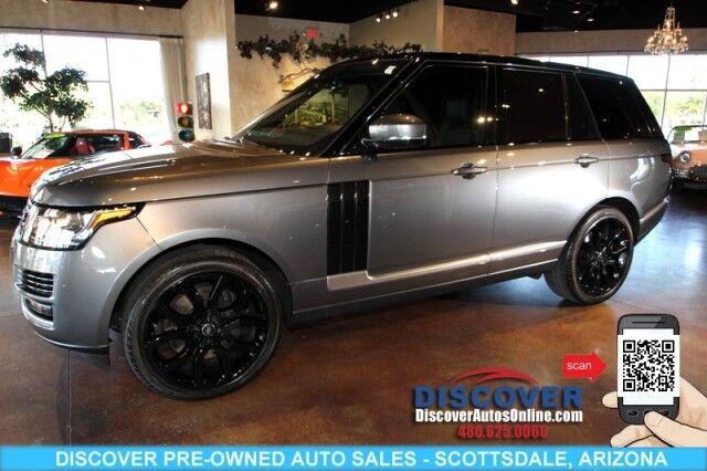 2016 Land Rover Range Rover Supercharged 5.0L V8 Scottsdale AZ