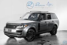 2016 Land Rover Range Rover Supercharged Autobiography Wheel Pkg Ebony Pkg