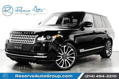 2016 Land Rover Range Rover Supercharged Autobiography Whls Adaptive Cruise Driver Asst Pkg