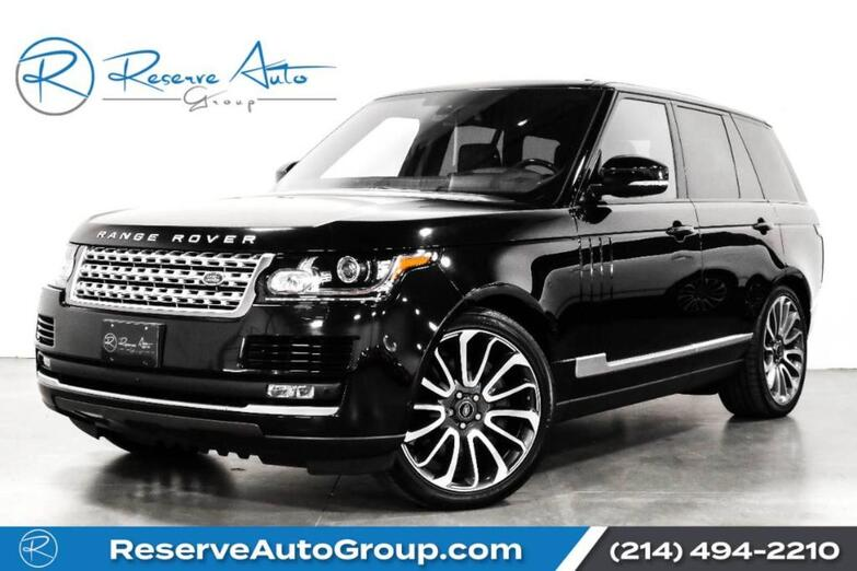 2016 Land Rover Range Rover Supercharged Autobiography Whls Adaptive Cruise Driver Asst Pkg The Colony TX
