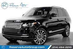 2016 Land Rover Range Rover Supercharged Autobiography Whls Vision Assist Pkg Adaptive Cruis