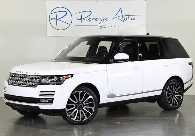 2016 Land Rover Range Rover Supercharged Autobiography Whls Vision Driver Assist 4-Zone Climate The Colony TX