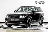 2016 Land Rover Range Rover Supercharged Blackout Package $112,880 MSRP Costa Mesa CA