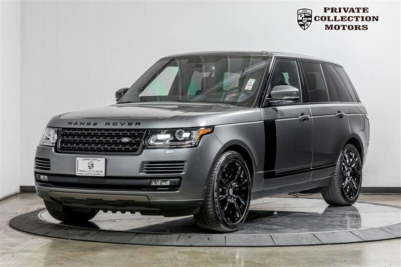 2016_Land Rover_Range Rover_Supercharged Blackout Package_ Costa Mesa CA