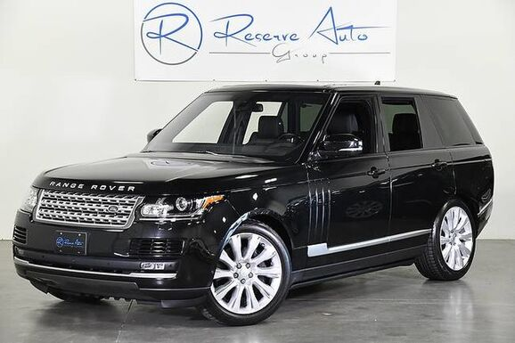 2016_Land Rover_Range Rover_Supercharged Blind Spot Deployable Boards Vision Assist_ The Colony TX