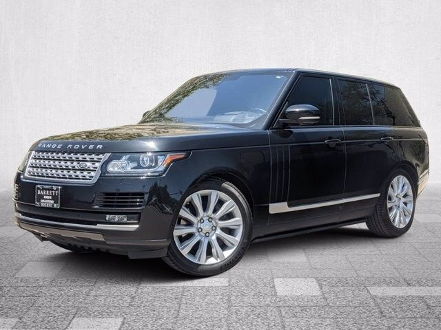 2016 Land Rover Range Rover Supercharged San Antonio TX